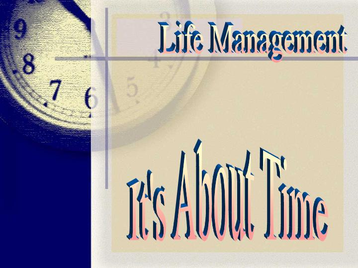 sermons - It's About Time - Management - Stewardship - Psalm 90