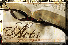 Acts PowerPoint Sermons Series