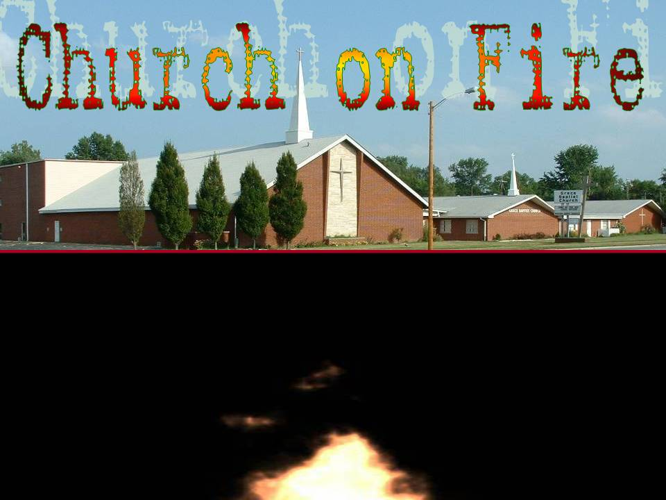 Church on Fire! Acts 4:31-33 - free PowerPoint Sermons by Pastor