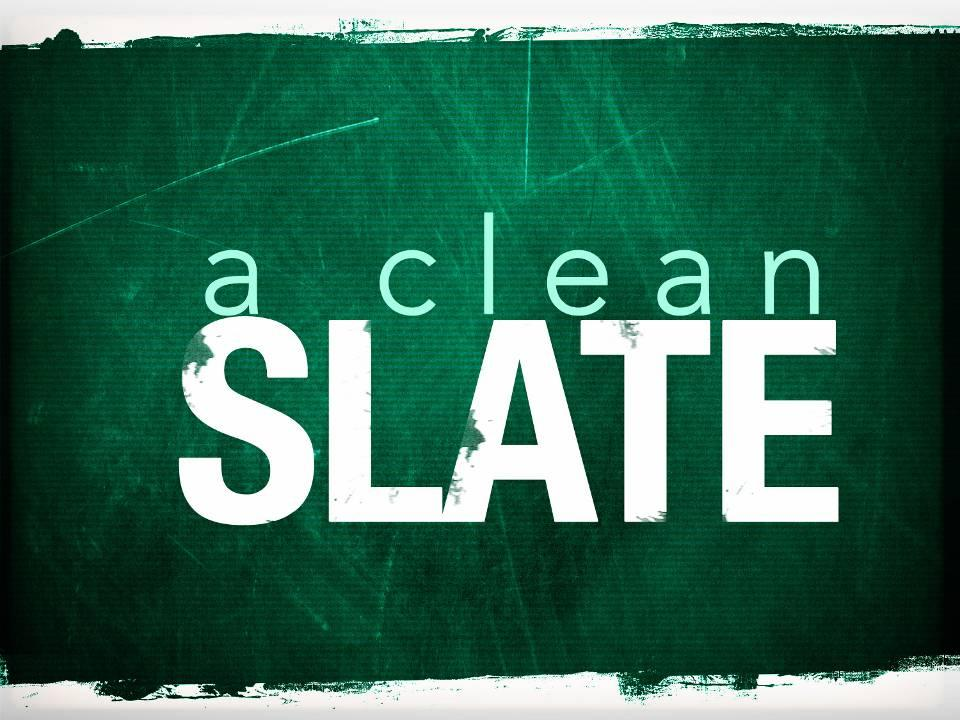 A Clean Slate for 2008 - New Years - free PowerPoint Sermons by ...