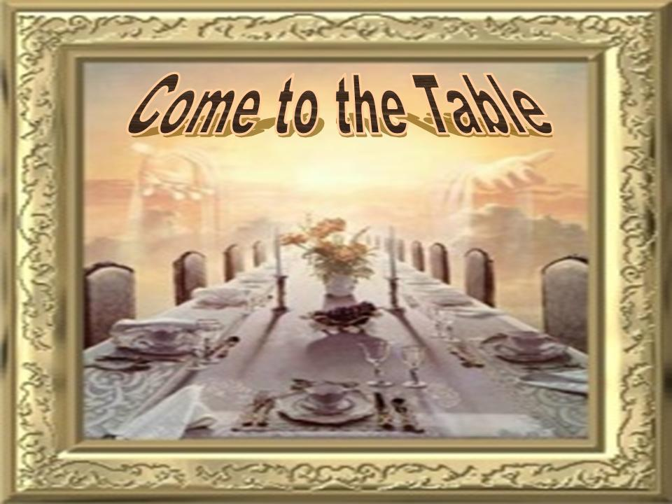 Communion PowerPoint Sermon