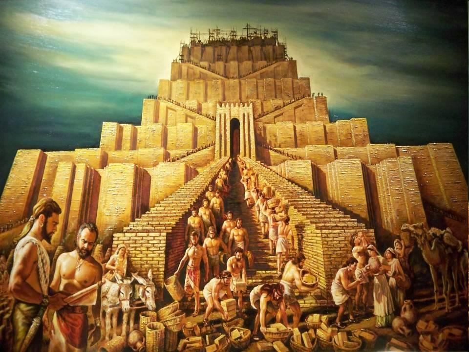 confusion genesis 11 1 9 tower of babel languages
