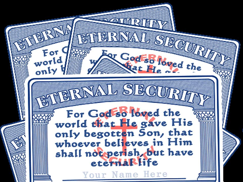 thesis on eternal security Buy a cheap copy of four views on eternal security book  does the bible support the concept of 'once saved, always saved,' or can a person lose his or her salvation how do the scriptures portray the complex interplay.