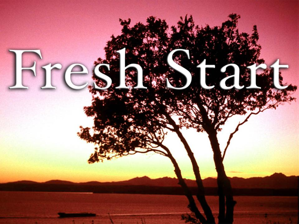 Fresh Start, Proverbs 24:16, free PowerPoint Sermons by Pastor Jerry
