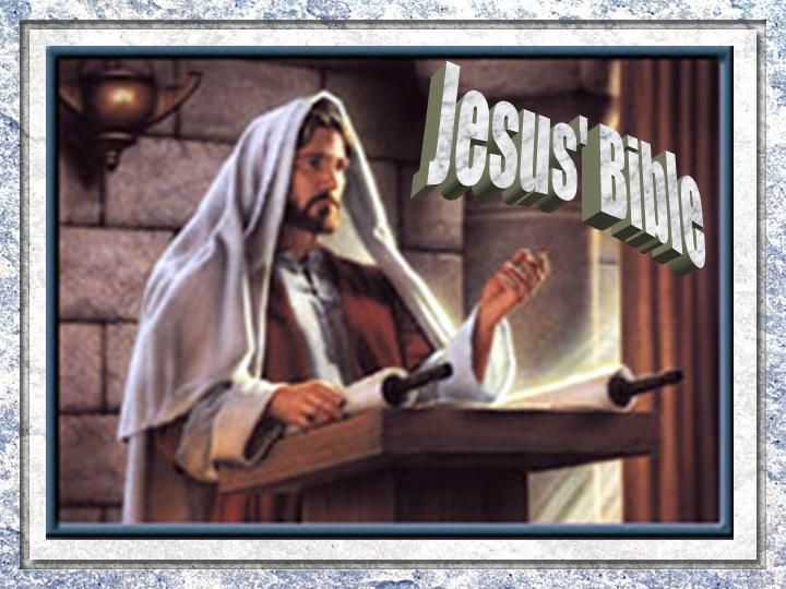 Jesus Old Testament PowerPoint Sermon