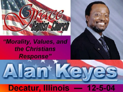 Alan Keyes at GBC