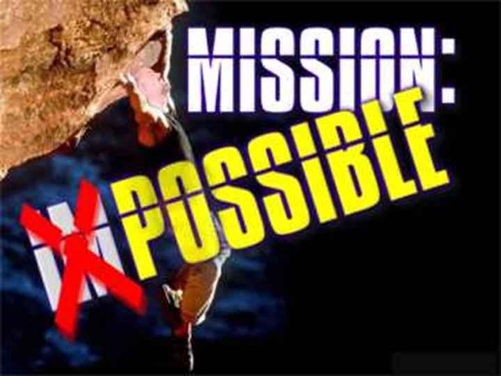 Mission Possible Logo Mission Possible John