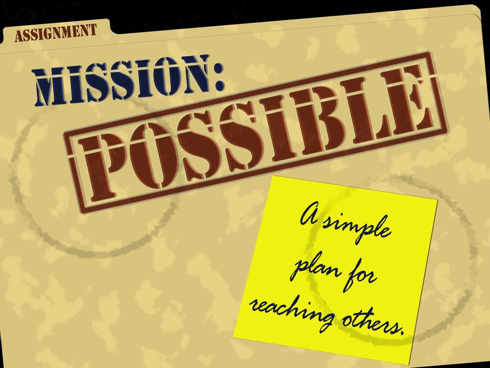 Mission Possible! John 14:12, free PowerPoint Sermons by