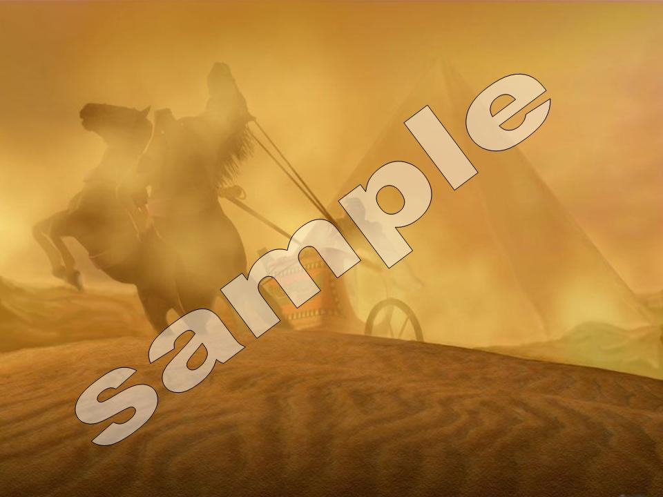 Exodus PowerPoint Sample slides, download free PowerPoint Sermons by