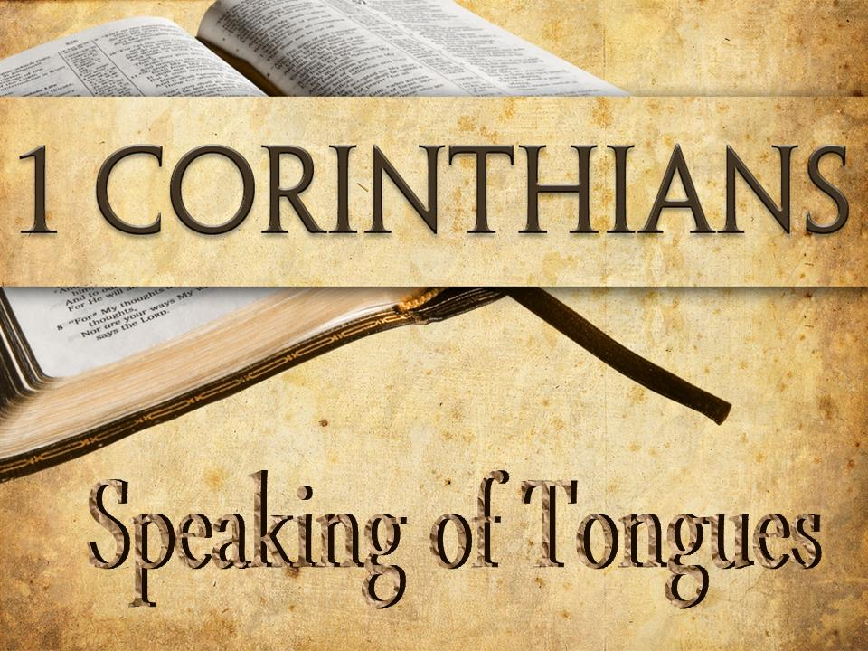 Speaking in tongues biblical meaning