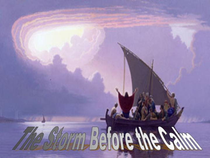 Storms of Life PowerPoint Sermon